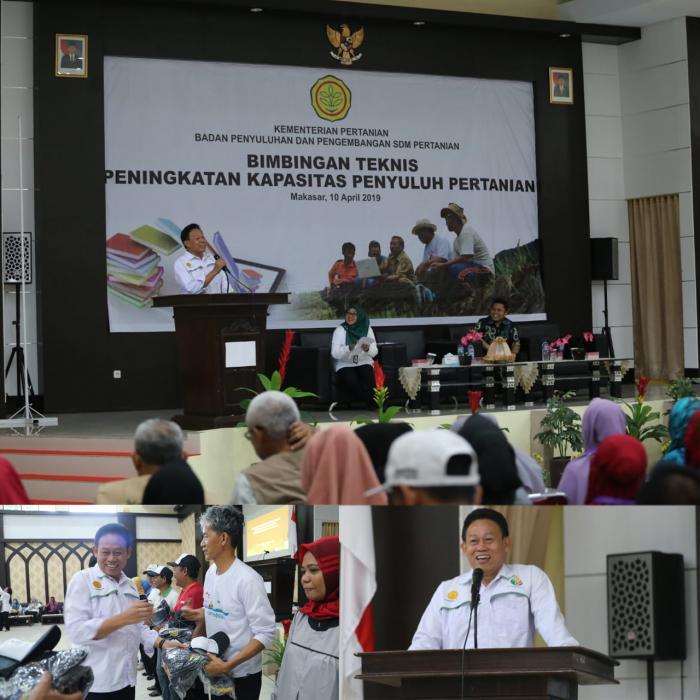 Bimbingan Teknis Serentak Bagi Penyuluh Pertanian dan Petani Andalan