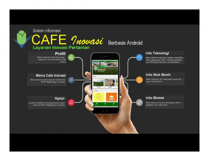 CAFE INOVASI: CENTER OF EXCELLENCE LAYANAN INOVASI PERTANIAN DI GORONTALO