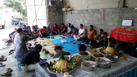 Diwarnai Potong Nasi Tumpeng, Disperpa Kota Magelang Konsolidasi Gelaran Kontes Aglaonema Nasional Jilid 2 Pada Afe 2019