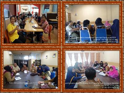 Rapat Koordinasi Pendampingan Tamu Dari Kabupaten Supiori Provinsi Papua