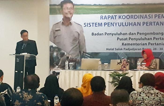 Dukung KostraTani, 34 Kadistan Provinsi Hadiri Rakor Pemantapan Sistem Penyuluhan