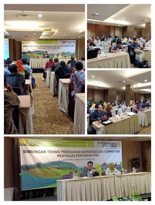 Bimbingan Teknis Penguatan Kapasitas dan Kompetensi Penyuluh Pertanian PNS