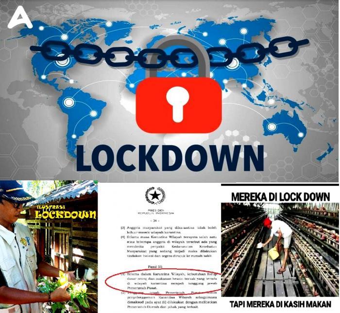 Arti Sederhana Lockdown khusus Petani, Peternak dan Pekebun