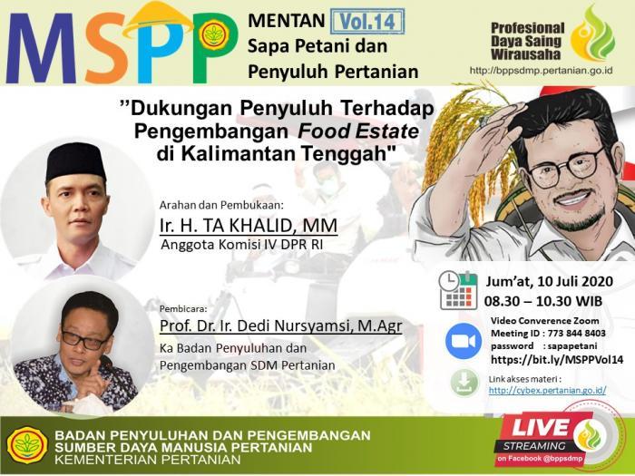 Mentan Sapa Petani Vol. 14  9 Juli 2020