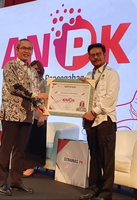 KPK Apresiasi Kementan untuk data petani by name by adress berbasis NIK