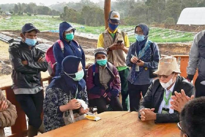 Kementan Dorong Penyuluh Humbahas Dukung Food Estate