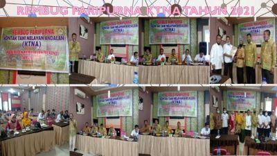 Rembug Paripurna KTNA Kabupaten Kepulauan Meranti Tahun 2021