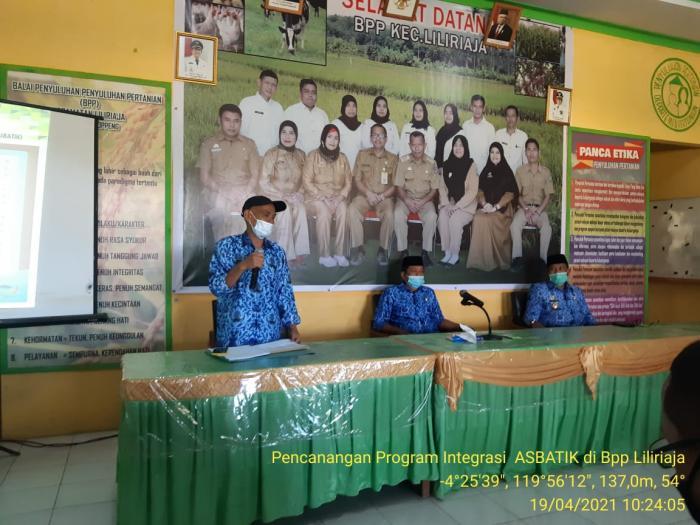 Pencanangan Program Asbatik (ase-bale-itik) Di Kabupaten Soppeng Provinsi Sulawesi Selatan