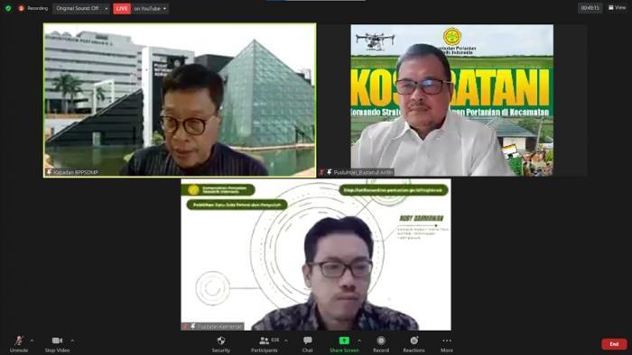 Meningkatkan Kapasitas, Keterampilan Petani dan Penyuluh Melalui Pelatihan 1 Juta Petani dan Penyuluh Pertanian  Se-Indonesia