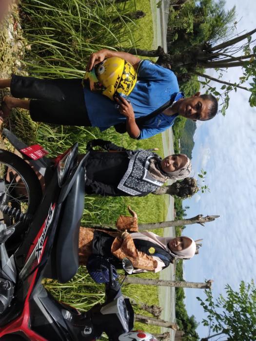 monitoring lahan sawah