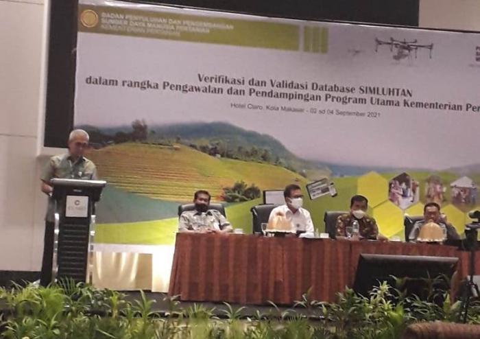 Verifikasi dan Validasi Database Simluhtan dalam Rangka Pengawalan dan Pendampingan Program Utama Kementerian Pertanian