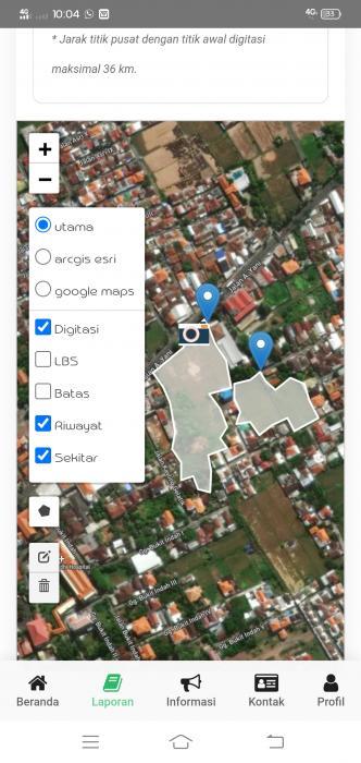 Sosialisasi Pemetaan Polygon Luas Lahan Kelompoktani Di BPP Kecamatan Buleleng, Kabupaten Buleleng