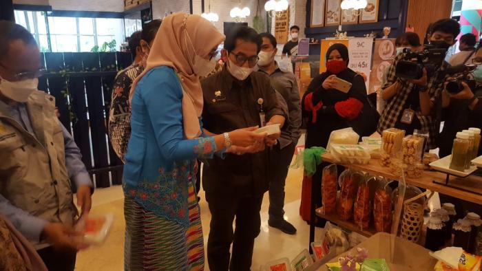 Pawon Putri Pegagan Kenalkan Produk Pangan Lokal & Herbal Lewat Pameran Ekspose Pangan Lokal 2021