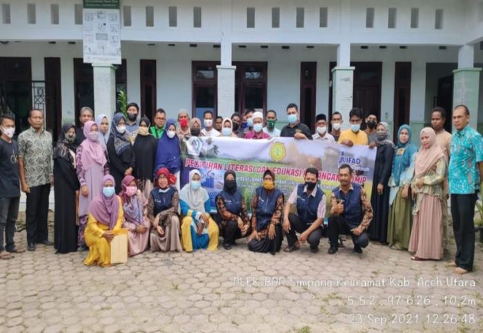 Kementan Edukasi Petani Aceh Utara Pada Program Ipdmip Untuk Melek Mengelola Keuangan