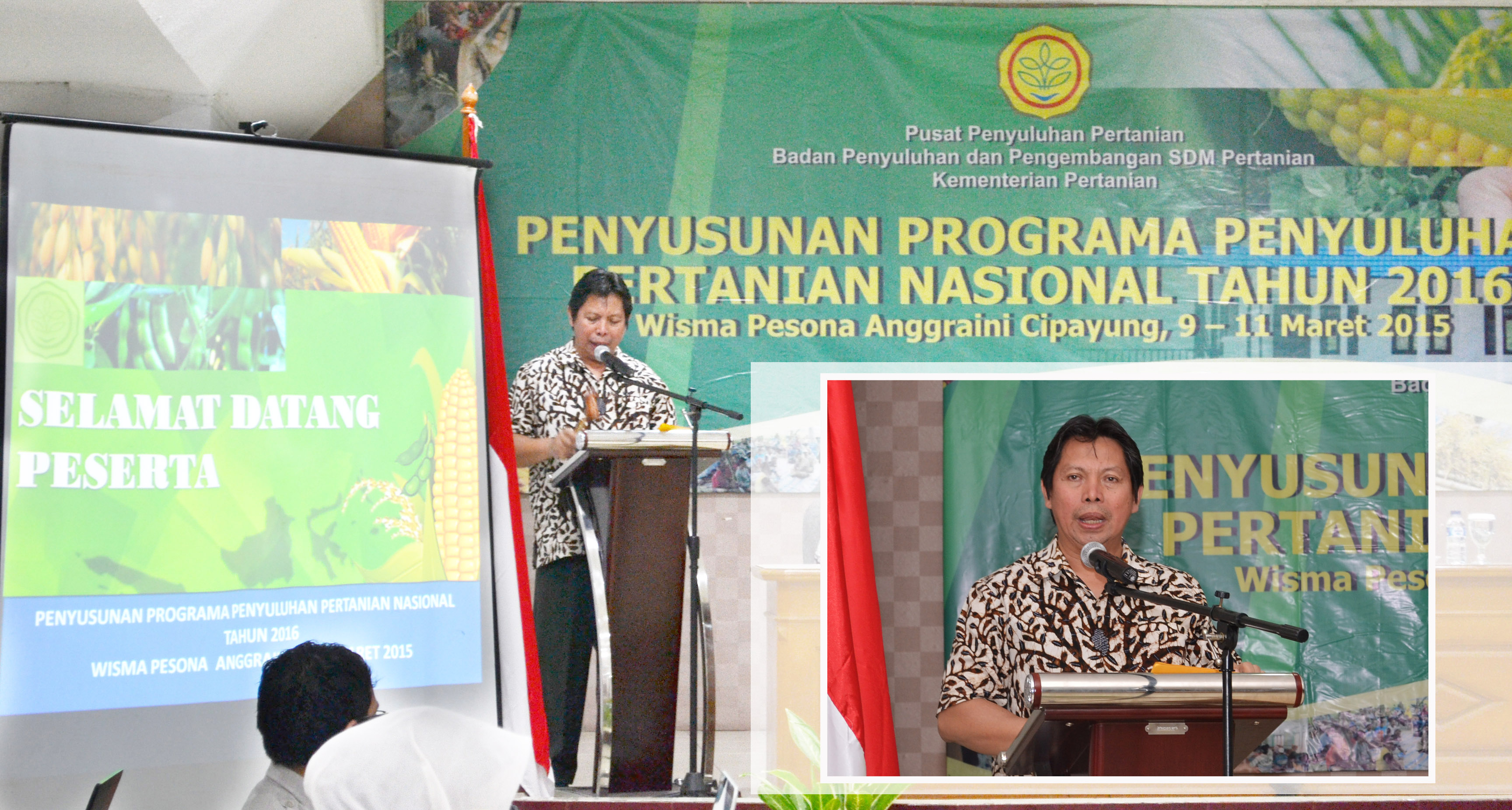 Pembukaan Penyusunan Programa Penyuluhan Pertanian Nasional tahun 2016