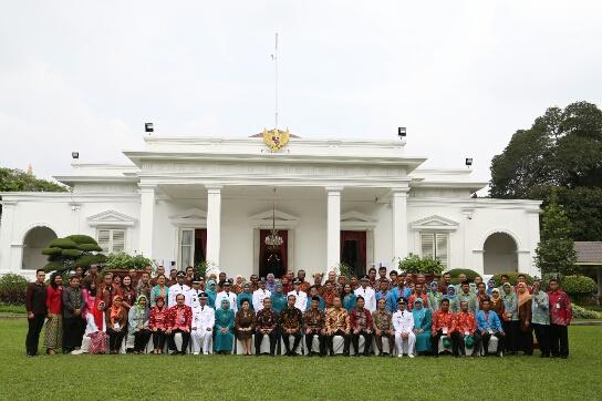 kunjungan peserta ke istana negara